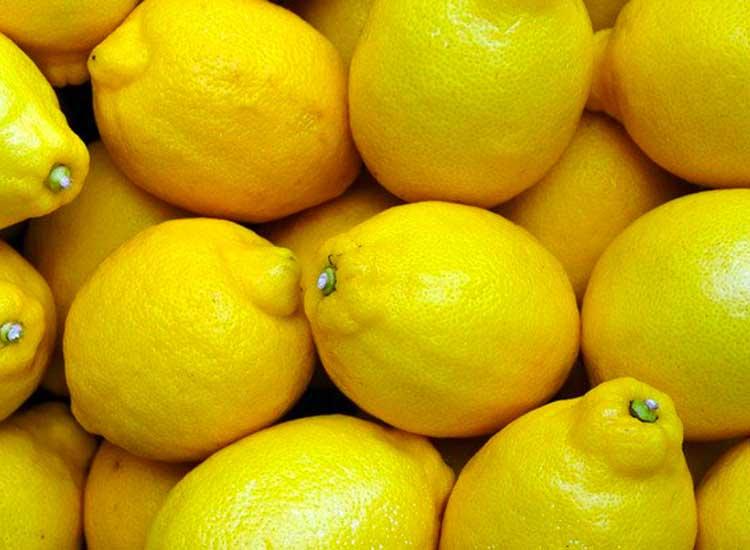 Des citrons jaunes en commande express