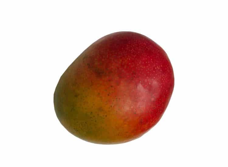 Commander un panier de fruits avec des mangues