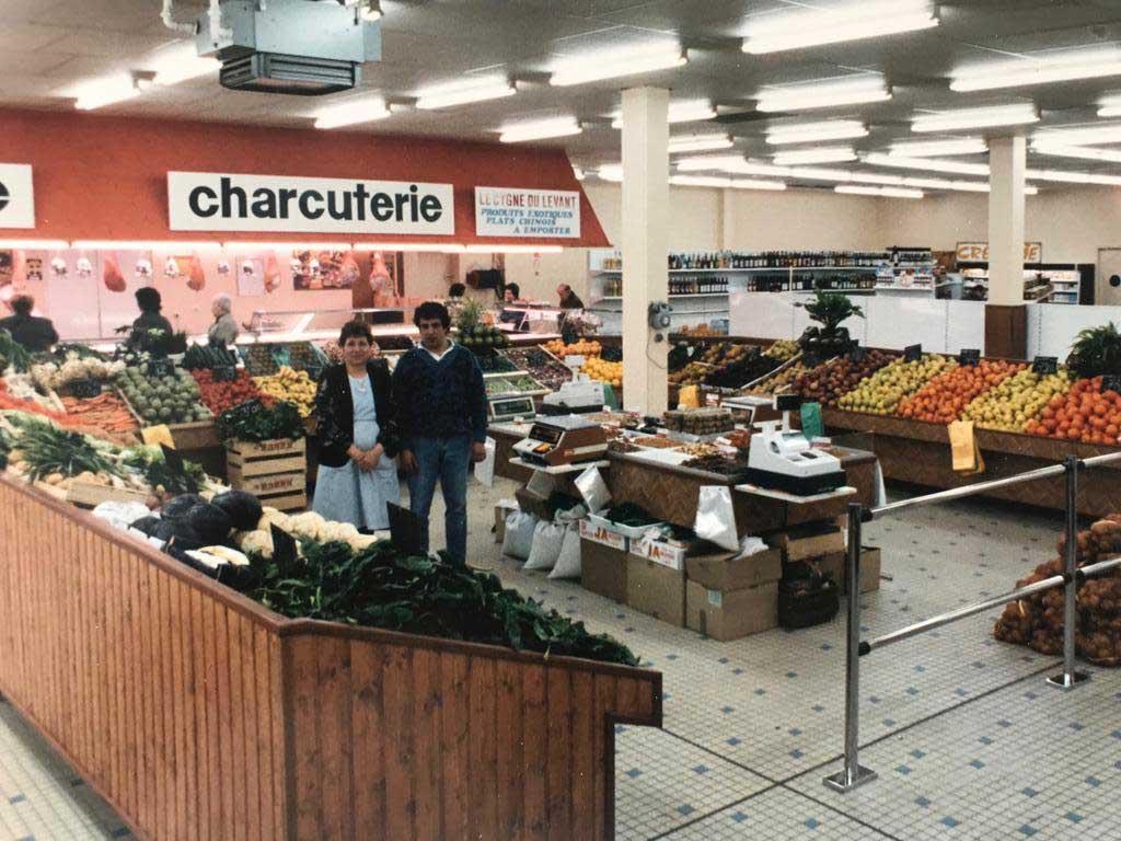 Chez Minotte le stand historique du marché couvert à Agen