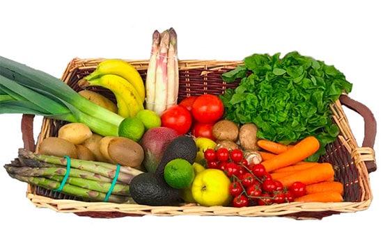 Choisissez nos paniers de fruits et légumes